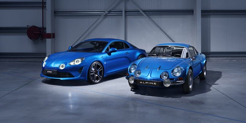 Alpine old and new