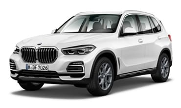 White BMW X5 xLine