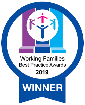 Working Families Best Practice Awards Winner