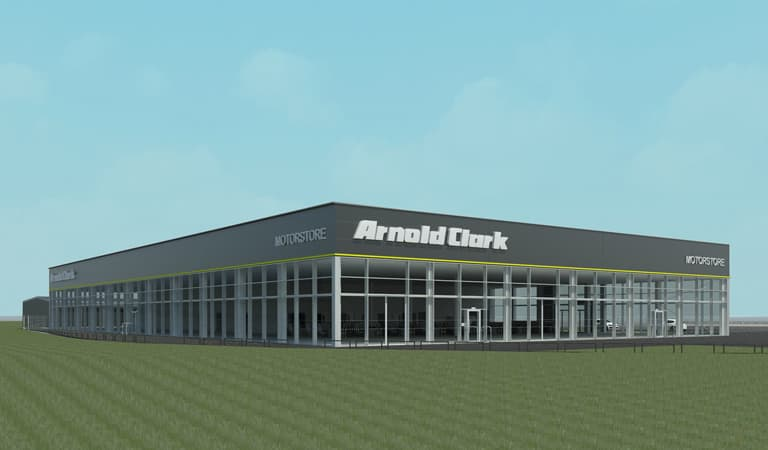 Artists Impression of Wakefield Motorstore