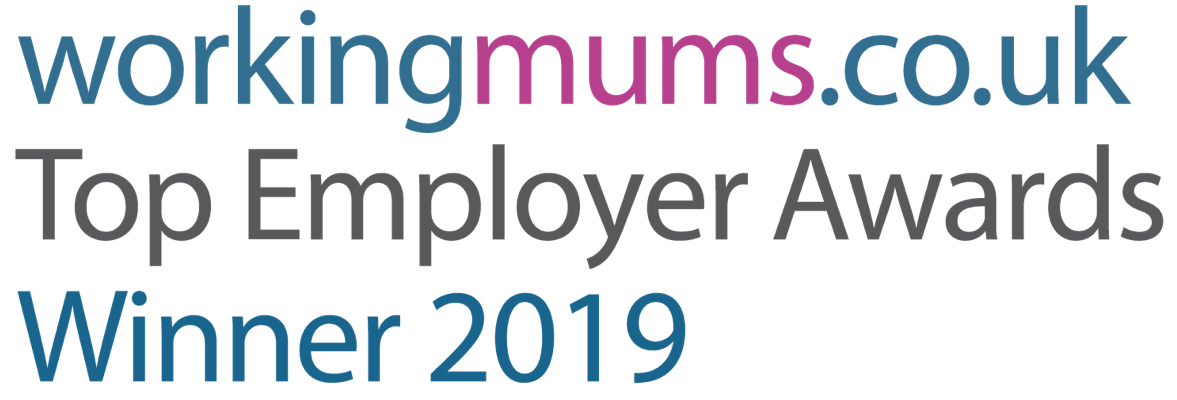 Workingmums.co.uk top employer awards winner 2019