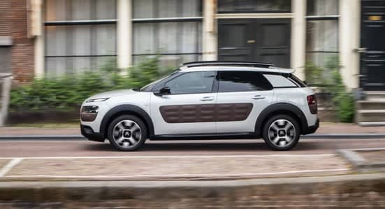 Citroën C4 Cactus driving along a road