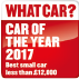What Car? Car of the year 2017. Best small car less than £12,000.