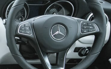 Multi function steering wheel