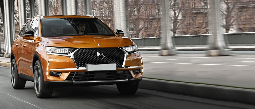 Orange DS 7 Crossback