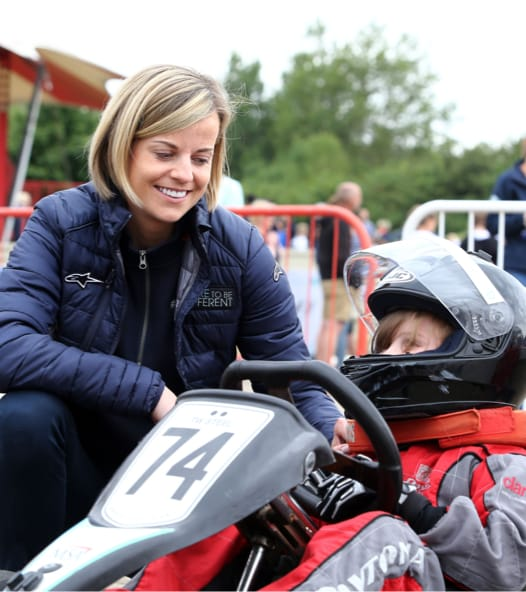 Susie Wolff - Founder of Dare to be Different