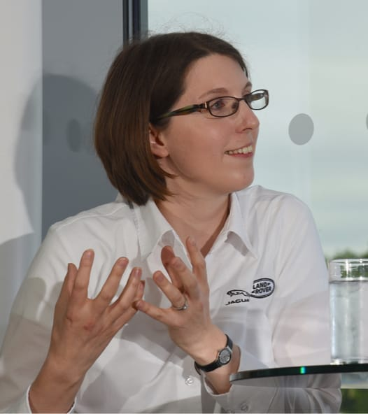 Amy Rimmer - Research Engineer, Jaguar Land Rover