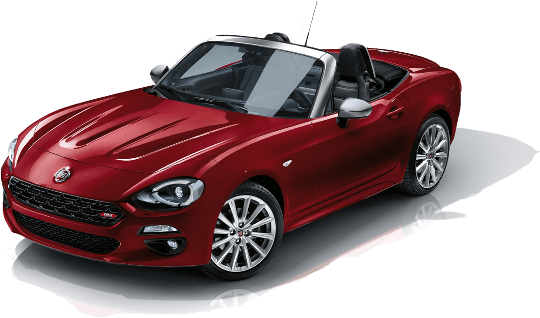 The new Fiat 124 Spider Anniversary edition