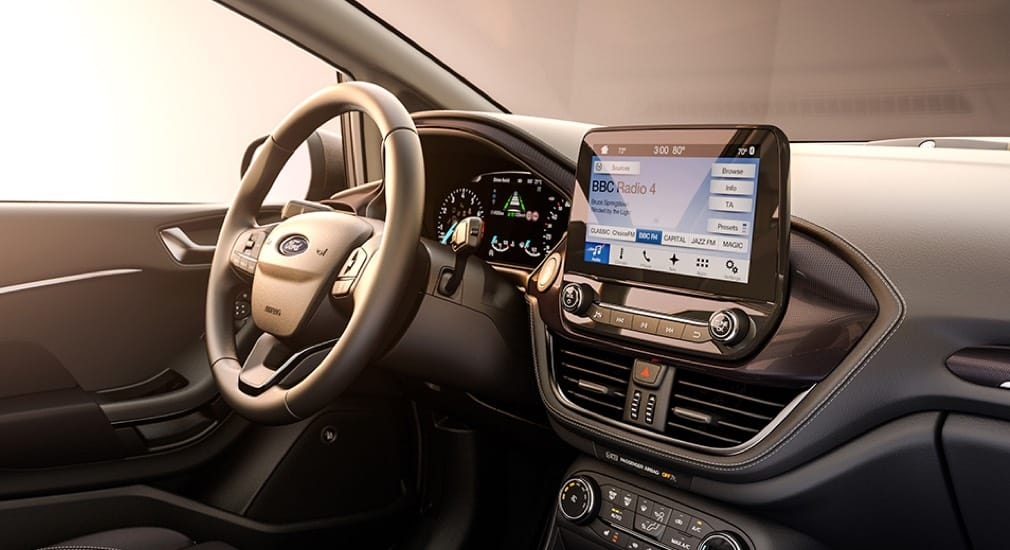 Ford Fiesta Interior and FORD SYNC 3.