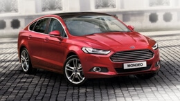 Red Ford Mondeo - available in our business offers