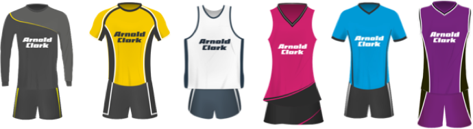 Arnold Clark Gear Up For Sport kits