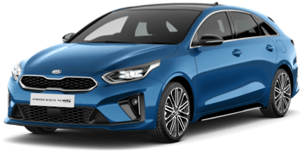 Red Kia ProCeed GT-Line S