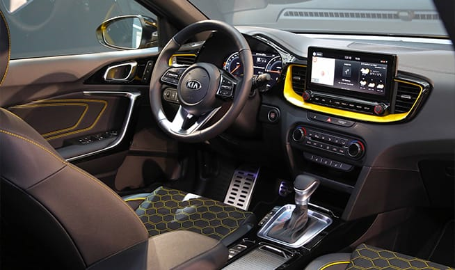 Interior of the Kia XCeed