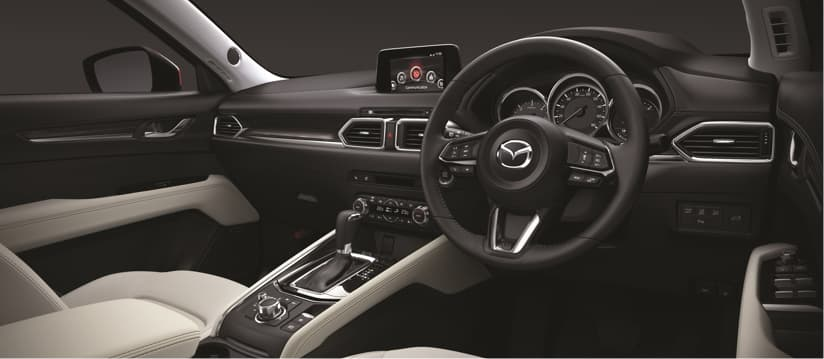 Interior of the new Mazda CX-5