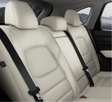 Leather seats in the new Mazda CX-5