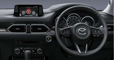 Interior of the Mazda CX-5 SE-L Nav