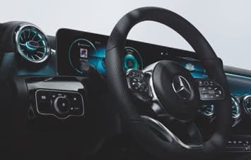 MBUX infotainment system