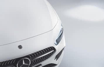 White A-Class grille