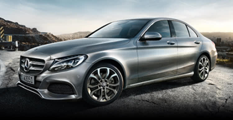The new Mercedes-Benz C-Class saloon