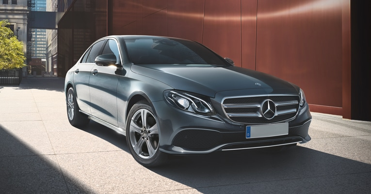 The new Mercedes-Benz E-Class saloon