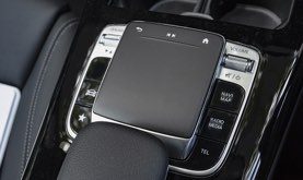 Infotainment touch pad