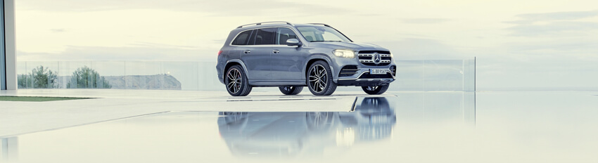 The Mercedes-Benz SUV range