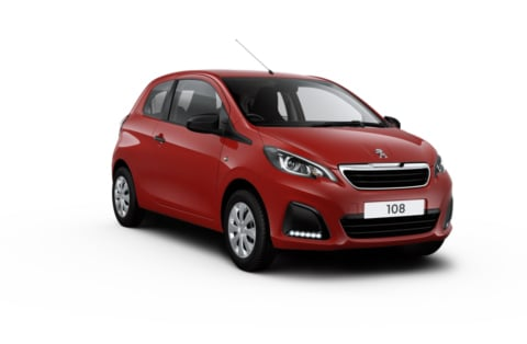Peugeot 108 In a range of colours