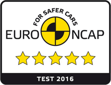 Safety rating 5 stars from Euro NCAP for the Peugeot 308.
