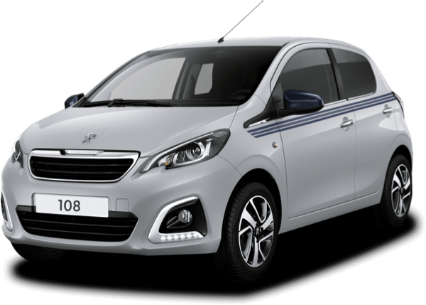 Silver Peugeot 108