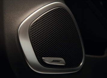 BOSE speakers – a sound choice.
