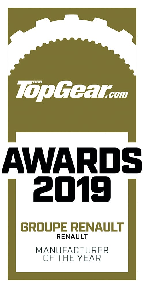 TopGear Awards 2019 manufacturer of the year