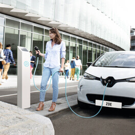 Renault ZOE charging station