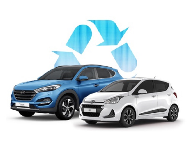 Hyundai Tucson and i10 models