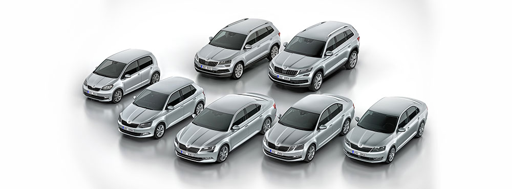The ŠKODA range