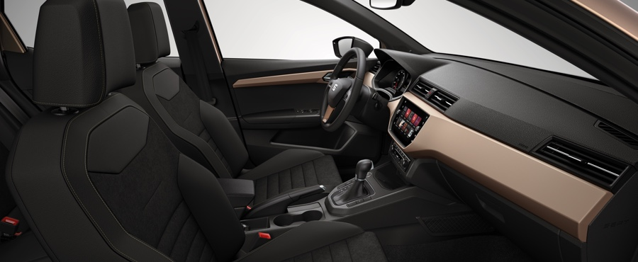 Interior of the new SEAT Ibiza