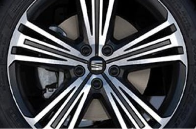 Tarraco alloy wheels.