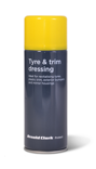 Protect tyre and trim dressing