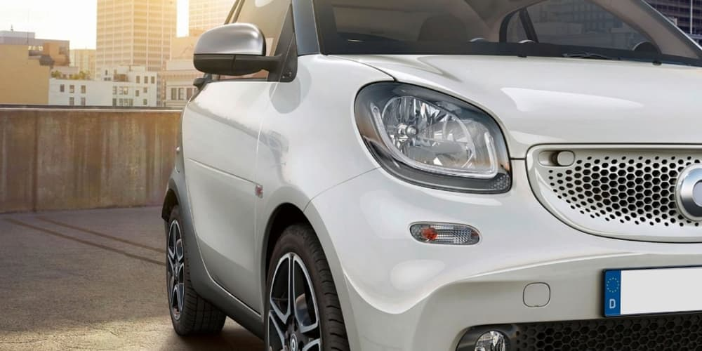 Front of smart ForTwo