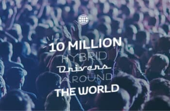 10 million hybrid drivers around the world