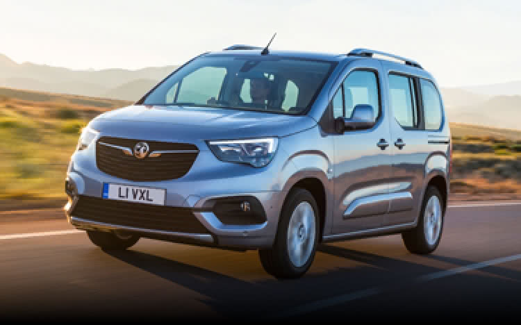 The Vauxhall Combo Life on the open road