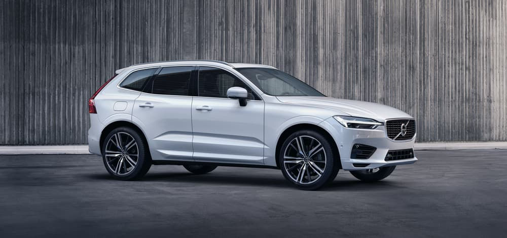 Grey Volvo XC60 R-Design D4